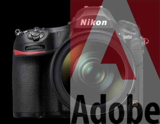 Adobe Camera Raw para a Nikon D850