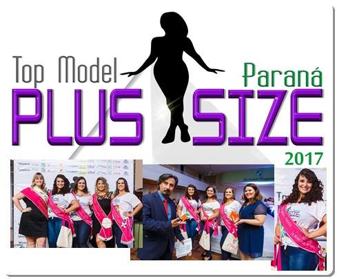 Top Model Paraná Plus Size 2017